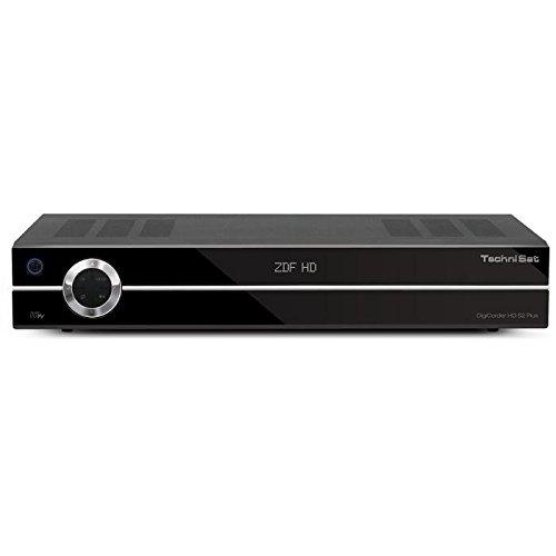 TechniSat DigiCorder HD S2 Plus Satellitenreceiver mit 160GB Festplatte schwarz