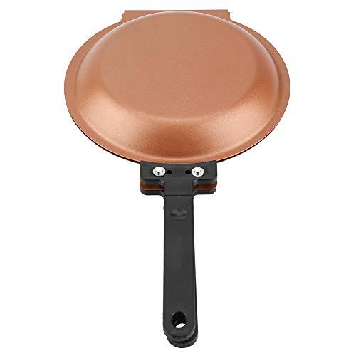 Revestimiento de cerámica antiadherente de doble cara Sartén con tap