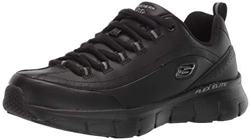 Skechers Synergy 3.0, Sneaker Donna, Nero, 38 EU