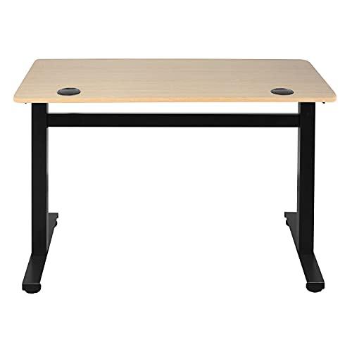 Ribelli Höhenverstellbarer Schreibtisch, schwarzes...