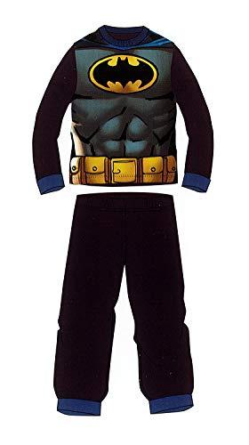 Pijama Coral de Invierno Batman Azul Marino