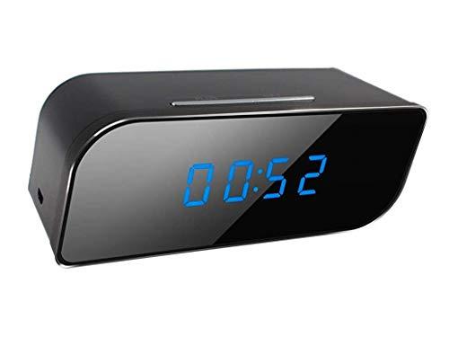 CursOnline® Reloj microcámara espía cámara espía WiFi HD Motion Detection cámara microcámara...