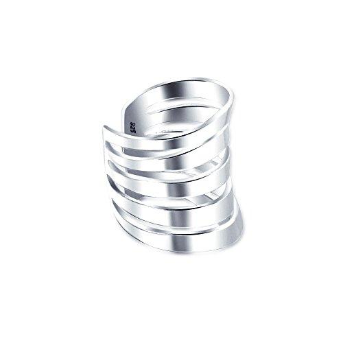Minimalistische Geschnitten Split Band Knorpel Ohr Manschetten Ohrstulpe Ohrringe Nicht Durchbohrt Ohr Sterling Silber