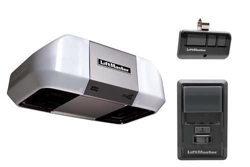 LiftMaster 8360 Premium Series DC Battery Backup Chain Drive W/O Rail Assembly