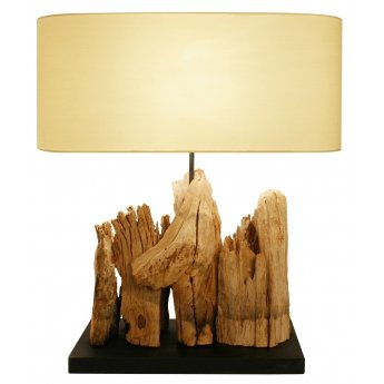 Lampe bois flotté RIVER