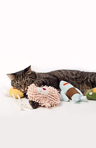 pidanピダン猫おもちゃぬいぐるみキャットニップまたたび(ピンクフルーフィ)