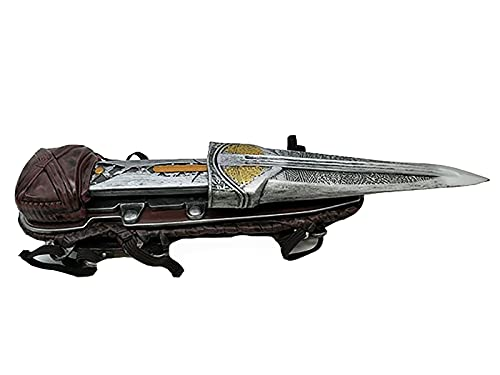 Assassin'S Creed Accesorios de Armas de Juego de rol de Cuchillas Ocultas Adornos de Pulsera de Accesorios de Arma de Hoja Oculta de Salto Recto de Dos etapas