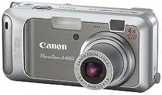 Canon Powershot A460 Digitalkamera (5 MP, 4 fach opt. Zoom, 5, 1cm (2 Zoll) Display)