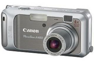 Canon Powershot A460 Digitalkamera (5 MP, 4-fach opt. Zoom, 5, 1cm (2 Zoll) Display)