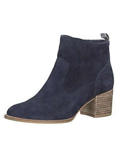 Tamaris Damen 1-1-25350-24 Stiefeletten, Blau (Navy 805), 38 EU