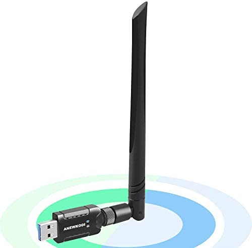 USB WiFi Adapter 1200Mbps for PC Desktop Laptop Dual Band 2 4G 300Mbps 5G 866Mbps Network LAN product image