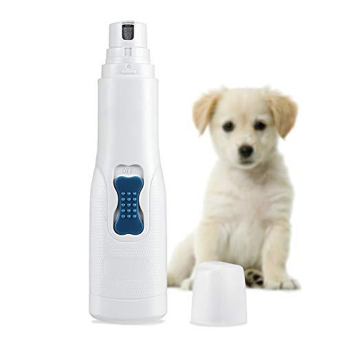 Brifit Krallenschleifer für Hunde, Superleise, Hundekrallen Schleifer mit 3 Schleifköpfen, Elektrischer Krallenschleifer, Nagelschleifer für Hunde