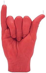 CandleHand Shaka - Vela gesto de mano (17 x 11 x 6 cm), diseño de mano real