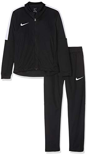 Nike Kinder Academy 16 Youth Knit Tracksuit Trainingsanzug, schwarz (Black/White), M
