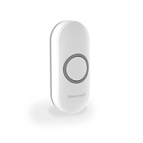 Honeywell Home Funk-Klingeltaster mit LED-Funktionsanzeige, weiß, DCP311