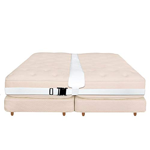 Wapern Ponte Letto, Ponte per Due Materassi Singoli, Memory Foam Filler Pad, Connettore Materasso, Quickly Crea King Size Bed, Bed Bridge Twin To King Converter Kit