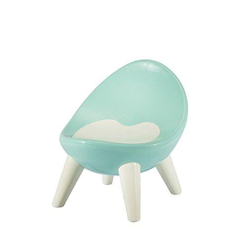 Dana Carrie Plastica Spessa Verde Baby BB Bambini sedie per Bambini Bambino Sgabello Piccola Sedia Baby Sedia Sgabello, Azzurro