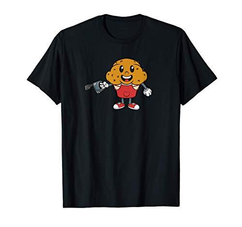 Muffins Cookie Magdalenas Panadería Baker Camiseta