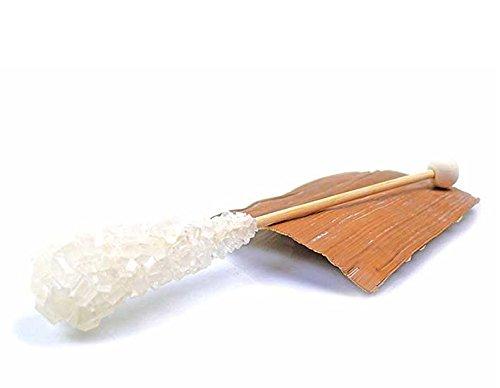 Kandissticks in weiß und braun braun