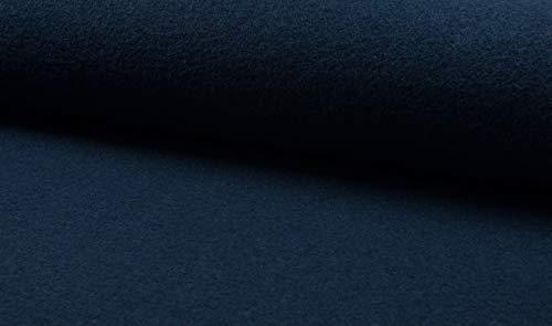 Fabrics-City 5048 - Tela 100% Lana Virgen (620 g), Color Azul petróleo