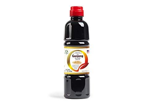 Q-Rapha Premium Korean Ganjang (Soy Sauce), Gluten-free Unpasteurized Artisanal 3 Year Aged (Medium 22.9 fl oz)