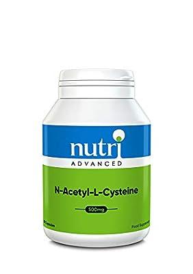 Nutri N-Acetyl-L-Cysteine 90caps by Nutri Advanced