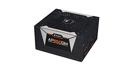 GIGABYTE AORUS AP850GM - Fuente de alimentación (850W, Active PFC, 80 Plus Gold, ATX, EU)
