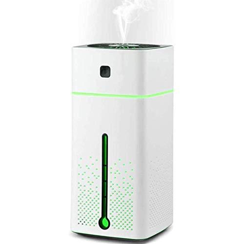 BaiHogi Difusor de Aroma de humidificador ultrasónico 1000 ml Difusor de aromaterapia Aceites Esenciales Lámpara de Fragancia con 7 Colores LED Mood Light Yoga Oficina SPA Dormitorio SPA