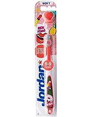 Jordan Step 3 (6-9) Years Toothbrushes with cap, 1 Grams