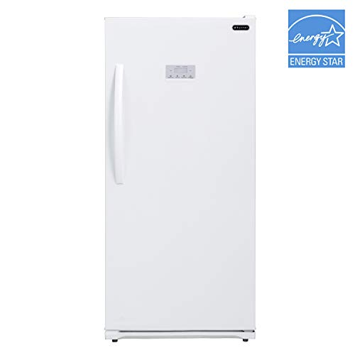 Whynter UDF-138DW 13.8 cu.ft. Energy Star Digital Upright Deep White Compact Freezer/Refrigerators, One Size