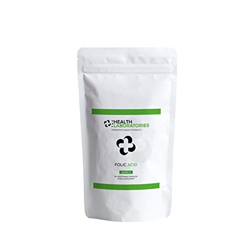 Folic Acid 400μg 60|120 Vegan|Vegetarian Premium Tablets Supplements (60)