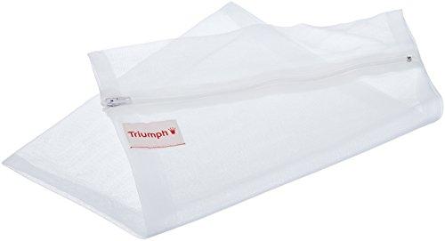 Triumph Damen Dessoustasche 79269 Wäschebeutel, Weiß (Weiß 03) One Size (Herstellergröße: 0)