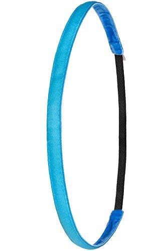 Ivybands® | Das Anti-Rutsch Haarband | Neon Blau | One Size | IVY005