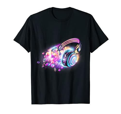 Camiseta LED activada por sonido de las camisas del resplandor iluminan el ecualizador Camiseta