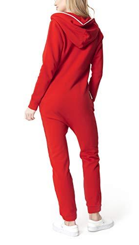 OnePiece Damen Jumpsuit Unisex Original 2.0, Rot (Red) - 4