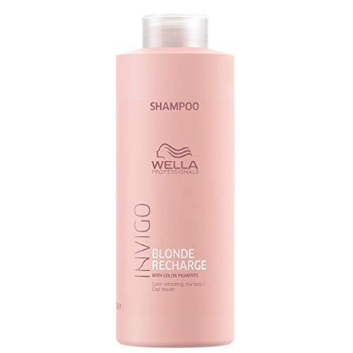 Wella Professionals Invigo Blonde Recharge Color Refreshing Shampoo / Cool blonde, 1000 ml