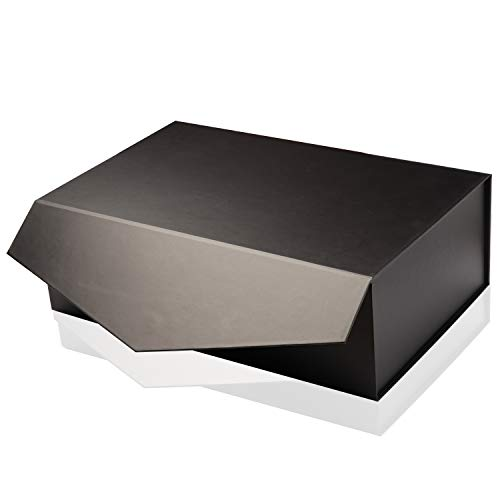 Yeden Large Gift Box  5 Luxury Boxes  Collapsible Magnetic Closure  Durable Storage Box 14 x 9 x 45