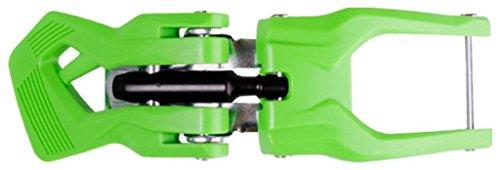 FIREFLY F50 - Hebilla de Repuesto para portabicicletas de Coche (Derecha, 1 tamaño), Color Verde y Negro