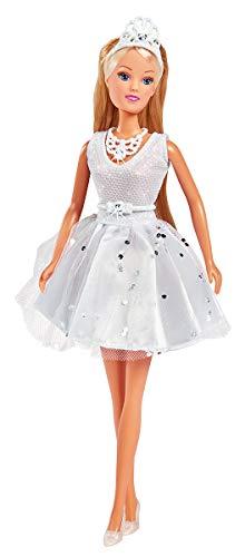 Simba 105733465 Steffi Love Puppe im Glitzerkleid/veredelt mit Swarovski Kristallen, Mehrfarbig