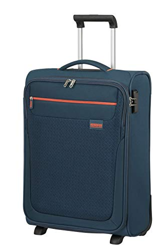American Tourister Sunny South Luggage- Carry-On Luggage, Upright S (55 cm - 39 L), Blau (Navy)