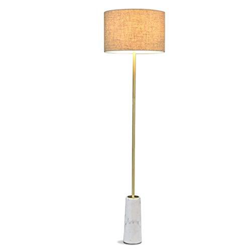 Deckenleuchte - Stehlampe aus Metall Nordic Geeignet for Wohnzimmer Schlafzimmer Arbeitszimmer Dekoration Lampe Marmoraugenschutz-Leselicht 038 A ++ (Größe: Fernbedienung), Größe: Fußschalter