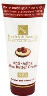 Health & Beauty Dead Sea Minerals - Anti-Aging Shea Butter Cream 180ml