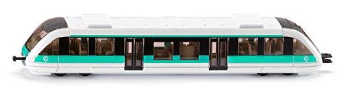 siku 1646001, Nahverkehrszug RATP Frankreich, Metall/Kunststoff, 1:120, türkis/weiß, Kompatibel mit anderen siku Spielzeugen