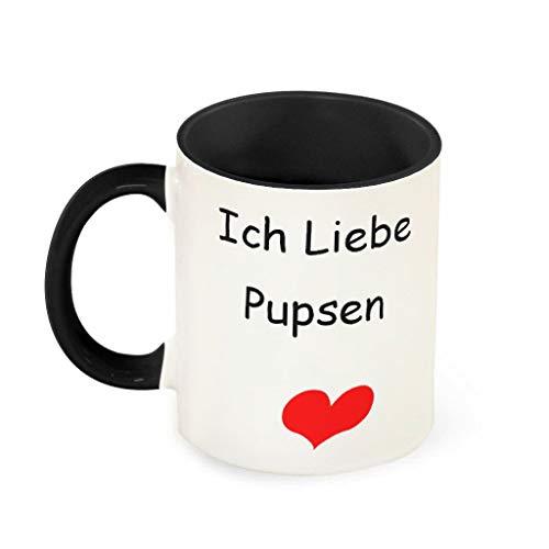 O2ECH-8 11 oz Ich Liebe pupsen beker hoogwaardige keramiek Funny Mok - grappige huwelijkscadeaus vrouwen (beide zijden bedrukken)
