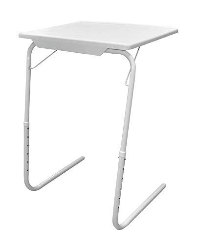 HOMION Portable Adjustable Folding Table, Lounge, Bedroom Furniture, Living, Tv, Multi Function