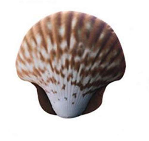 nobrand Kreative Deko Kissen Plüsch Cartoon Muschelform Ozean Tier Umarmung Kissen Kissen Aquarium Ornament Für Bett Sofa Stuhl Auto Weiches Kissen (Color : B, Size : 45 * 46cm)