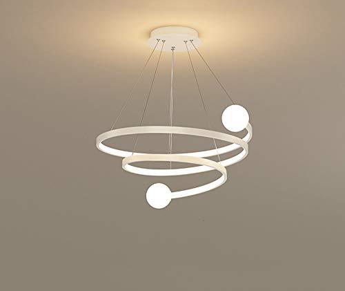 LED lámpara colgante cristal bola y curvas de diseño de luces de...