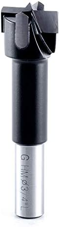 Amana Tool - 203754 Carbide Tipped Hinge Bit Boring 3 Ranking TOP11 Dia 4 H Max 65% OFF L