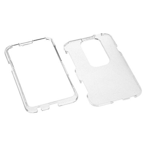 MYBAT HTCEVO3DHPCTR001NP Schutzhülle für HTC EVO 3D, robust, transparent, 1 Stück