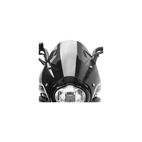 Genuine Kawasaki Accessories Fixed Cafe Deflector (Black Smoke) for 15-21 Kawasaki EN650SA